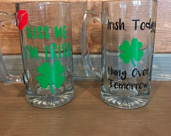 Saint patrick's day beer mug