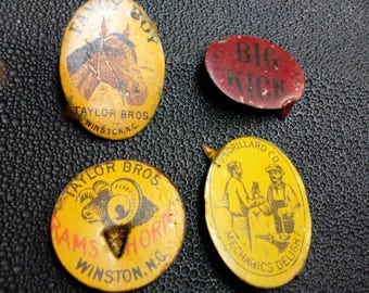 Antique Tobacco Tags