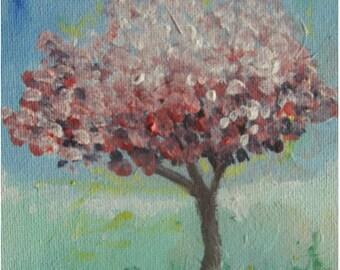 Blossom Tree Original Acrylic Painting