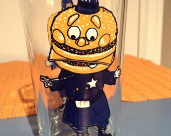 McDonald's 1970's VINTAGE Big Mac Drinking Glass