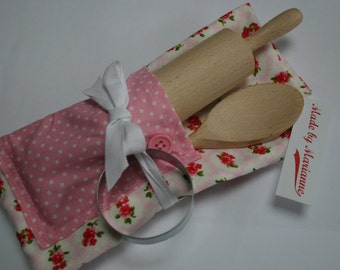 Children's Baking Set with Apron