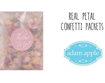 Confetti Packets 25 Guests
