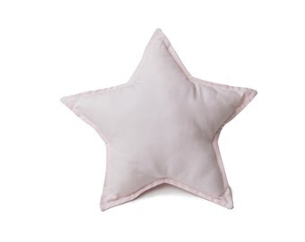 Light Pink Star Pillow, Decorative Star Pillow, Star Shaped Pillow, Star Nursery Decor, Kids Room Decor, Girls Nursery, Pink Star Decor