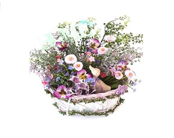 Large spring basket