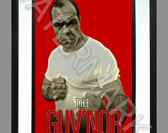 Lenny Mclean The Guv'nor . A3 Print . Art . Poster