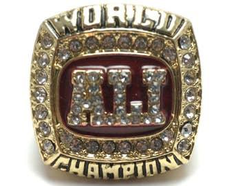 Muhammad Ali Boxing World Champion Ring Size 11