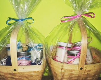 Gift baskets for Him & Her