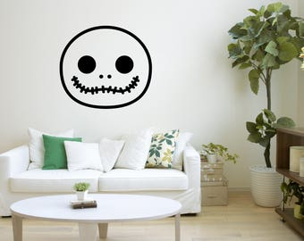 Superior Nightmare Before Christmas, Wall Decal, Wall Art, Kids Room Decor, Wall  Illustration Part 29