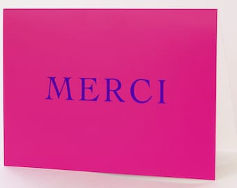 Merci card