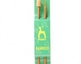 Pony 9.00 mm Bamboo Needles - 33 cm