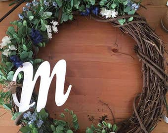 Blue Spring Wreath #2