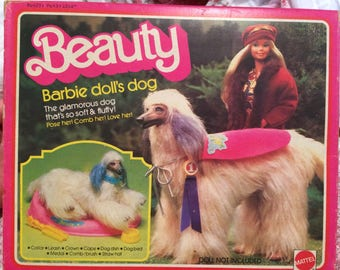 1979 Beauty, Barbie Doll's Dog