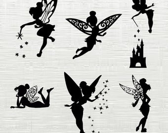 Tinkerbell SVG, Disney World svg, Tinkerbell cutfile svg, svg files for silhouette cameo, cricut explore, dxf file, Tinker Bell, Tinkerbel