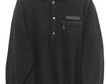 Polo sport jacket rare vintage polo sport fleece jacket by polo ralph lauren polo bear ski ralph lauren jacket polo 1992 sz L