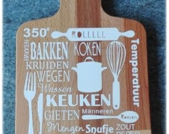 Decoration cut platter ' kitchen '