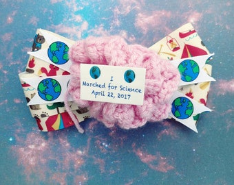 March For Science! Bows and Headbands