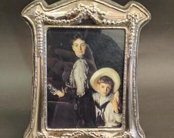 Vintage Silver Platted Frame