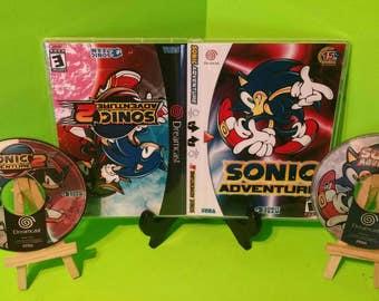 Sonic adventure 1 & 2 dreamcast flips