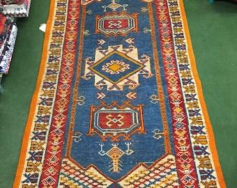 Stunning Turkish flatweave rug
