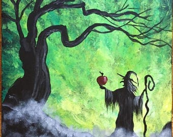Enchanted Apple Painting