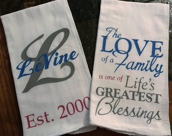 Custom Hand Towel Set