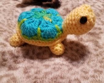 African motifs turtle, turtle, amigurumi turtle, turtle toy, gift for turtle lovers, stuffed turtle, s