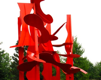 Calder Sculpture Photo item #4019