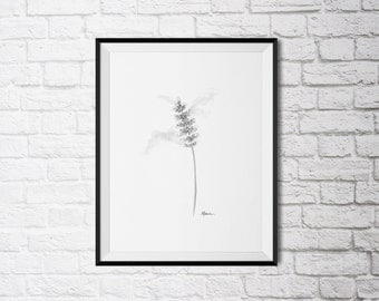 A Rose From Nature, Floral Art Print