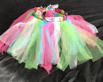 Multicolored tutu