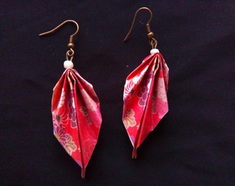 origami #4 earrings