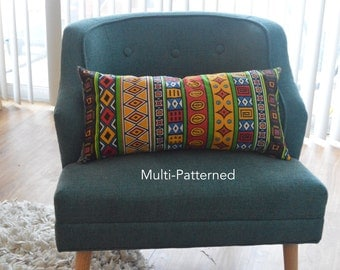 African Print Pillow Covers