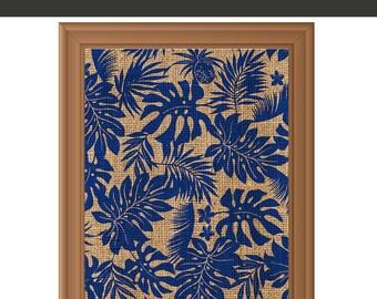 Tropical Print - Tropical Art - Leaf Decor - Leaf Wall Art - Abstract Print - Abstract Art Print - Instant Download Printable Art