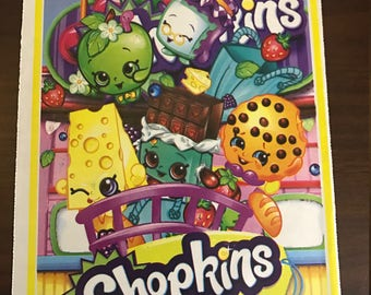 Shopkins Treat Loot Bags--- 25 Count Party Favors