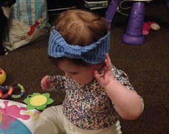 Baby/children's hand knitted headbands