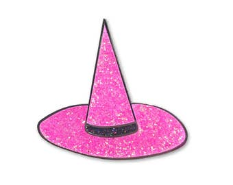 Kawaii Witch Hat Pin