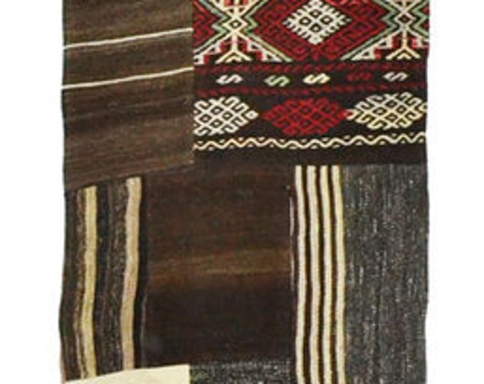 RUNNER RUG - Kilim Patchwork - Turkish Kilim - Free Shipping