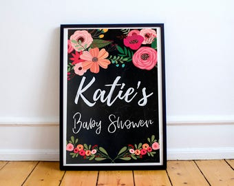 Baby/Bridal/Party Shower Sign - Digital Download