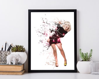 Lady Gaga - Music - Poster - Print