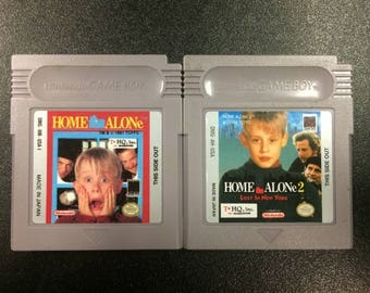 Home Alone 1 & 2 - Video Game for Nintendo Game Boy