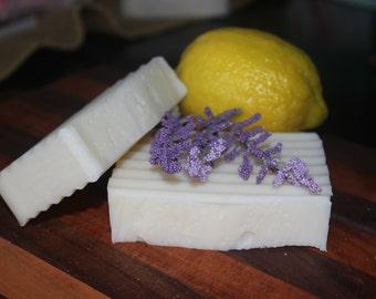 relaxing lavender lemon soap