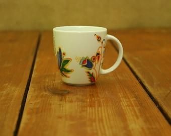 Yellow Folk Mug