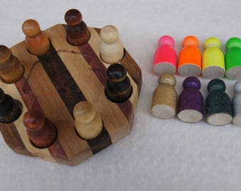 Dominoes Hub for Mexican Train Dominoes