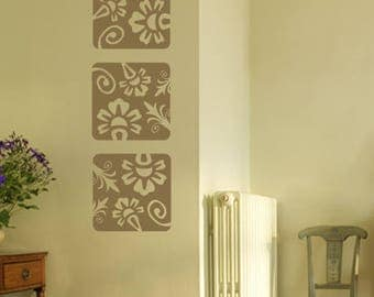 Floral Collage Flower Wall Decal