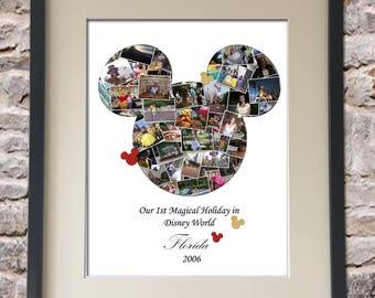 Mickey Digital Collage