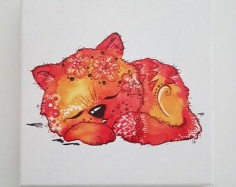 Milli Tausendschön slumber kitten