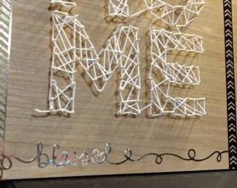 nail String wall art