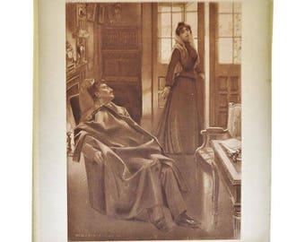 1899 Photogravure by William de Leftwich Dodge, Sapho Opera
