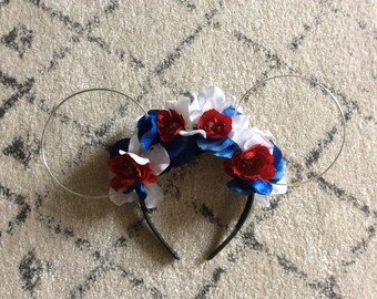 Fourth of July Disney inspired headband
