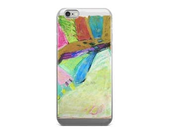 Iphone case with Colourful Landscape Design, Iphone Cover Landscape, Art Iphone Case, Unique Iphone Case, Iphone 6 case, Iphone 7 Case,