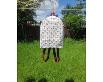 Alice in Wonderland Backpack - Small Backpack - Festival Backpack